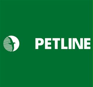 Petline Yeşil Logo Yatay